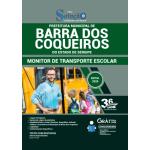 Apostila Prefeitura de Barra dos Coqueiros - SE 2020 - Monitor de Transporte Escolar