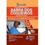 Apostila Prefeitura de Barra dos Coqueiros - SE 2020 - Motorista de Transporte Escolar
