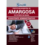 Apostila Prefeitura de Amargosa - BA 2020 - Assistente Administrativo