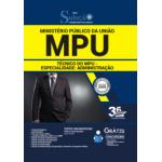 Apostila MPU 2020 – Técnico do MPU - Especialidade: Administração