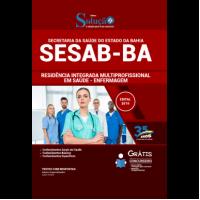 Apostila SESAB-BA 2019 - Residência Integrada Multiprofissional em Saúde - Enfermagem