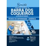 Apostila Prefeitura de Barra dos Coqueiros - SE 2020 - Técnico de Enfermagem - Urgência