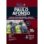 Apostila Prefeitura de Paulo Afonso - BA 2020 - Agente de Fiscalização Municipal - Agente de Fiscalização do Meio Ambiente e Serviços Públicos