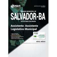 Apostila Câmara Municipal de  Salvador - Assistente Legislativo Municipal