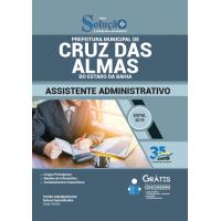 Apostila Prefeitura de Cruz das Almas - BA 2019 - Assistente Administrativo