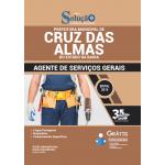 Apostila Prefeitura de Cruz das Almas - BA 2019 - Agente de Serviços Gerais