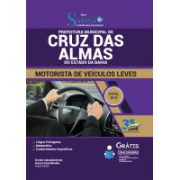 Apostila Prefeitura de Cruz das Almas - BA 2019 - Motorista de Veículos Leves