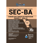 Apostila SEC-BA - 2019 - Comum aos Cargos de Professor Padrão P - Grau III