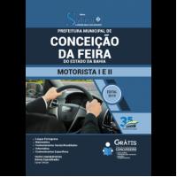 Apostila Prefeitura de Conceição da Feira - BA - 2019 - Motorista I e II