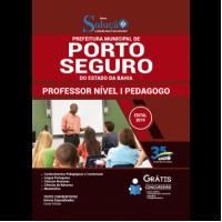 Apostila Prefeitura de Porto Seguro - BA 2019 - Professor Nível I Pedagogo