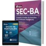 SEC - BA 2017; Comum a todas as funções de Professor Substituto