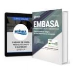Combo EMBASA - BA 2017 - Cargos de Nível Médio/Técnico e Superior + Curso Online