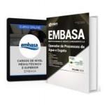 Combo EMBASA - BA 2017 - Operador de Processos de Água e de Esgoto + Curso Online
