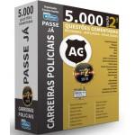 Passe Já - 5.000 questões - Carreiras Policiais - 2ª Edição