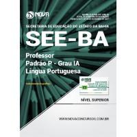 Apostila SEE-BA 2017 - Professor Padrão P – Grau IA - Língua Portuguesa