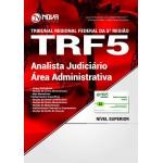 Apostila TRF 5° 2017 - Analista Judiciário - Área Administrativa