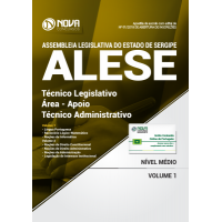 Apostila ALESE-SE 2018 - Técnico Legislativo / Área - Apoio Técnico Administrativo