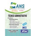ANS - 2015 - Técnico Administrativo
