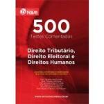 Caderno de Testes - 500 Testes de Direito Tributário, Direito Eleitoral e Direitos Humanos