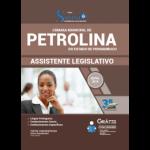 APOSTILA CÂMARA MUNICIPAL DE PETROLINA -PE - 2019 - ASSISTENTE LEGISLATIVO