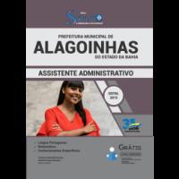 APOSTILA PREFEITURA DE ALAGOINHAS-BA - 2019 - ASSISTENTE ADMINISTRATIVO