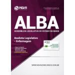 Apostila Assembleia Legislativa da Bahia (ALBA) 2018 - Analista Legislativo Enfermagem