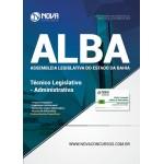Apostila Assembleia Legislativa da Bahia (ALBA) 2018 - Técnico Administrativo - Administrativa
