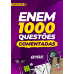 Livro 1000 Questões Comentadas ENEM 2019