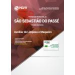 Apostila Prefeitura de São Sebastião do Passé - BA 2018 - Auxiliar de Limpeza e Maqueiro