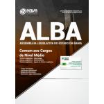 Apostila Assembleia Legislativa da Bahia (ALBA) 2018 - Comum aos Cargos de Nível Médio