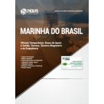Apostila Marinha do Brasil 2018 - Oficiais Temporários: Áreas de Apoio à Saúde, Técnica, Técnica-Magistério e de Engenharia