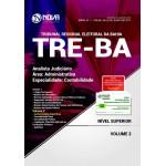 Apostila TRE-BA 2017 - Analista Judiciário – Área: Administrativa – Especialidade: Contabilidade