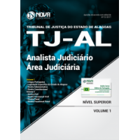 Apostila TJ-AL 2018 - Analista Judiciário - Área Judiciária