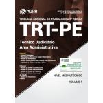 Apostila TRT-PE 6 ª Região 2018 - Técnico Judiciário - Área Administrativo