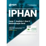 Apostila IPHAN 2018 - Cargo 1: Analista I - Área 5: Administração Geral