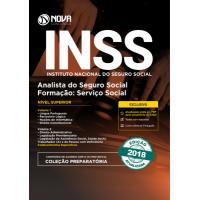 Apostila INSS 2018 - Analista do Seguro Social - Formação: Serviço Social