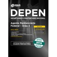 Apostila DEPEN 2018 - Agente Penitenciário Federal - Área 3