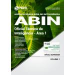 Apostila ABIN 2018 - Oficial Técnico de Inteligência - Área 1