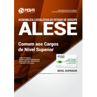 Apostila ALESE-SE 2018 - Comum aos Cargos de Nível Superior