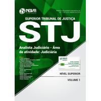 Apostila STJ 2018 - Analista Judiciário - Área de Atividade: Judiciária