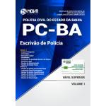 Apostila Polícia Civil PC-BA 2018 - Escrivão de Polícia