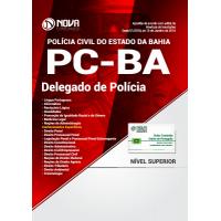 Apostila PC-BA 2018 - Delegado de Polícia