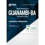 Apostila Câmara de Guanambi - BA 2018 - Jardineiro e Motorista