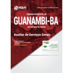 Apostila Câmara de Guanambi - BA 2018 - Auxiliar de Serviços Gerais