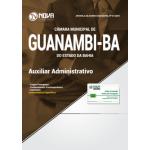 Apostila Câmara de Guanambi - BA 2018 - Auxiliar Administrativo