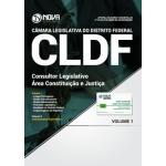 Apostila Câmara Legislativa DF (CLDF) 2018 - Consultor Legislativo - Área Constituição e Justiça