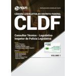 Apostila Câmara Legislativa DF (CLDF) 2018 - Consultor Técnico Legislativo - Inspetor de Polícia Legislativa