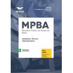 Apostila MP - BA - Assistente Técnico Administrativo 2017