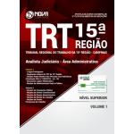 Apostila TRT 15ª Região Campinas 2018 - Analista Judiciário - Área Administrativa