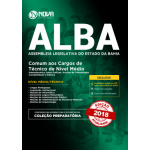 Apostila ALBA 2018 - Comum aos Cargos de Técnico de Nível Médio
